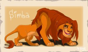 Old Simba by qeenta