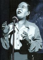 Billie Holiday by NickDean