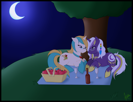 Romantic Midnight Picnic by Kuro-Productions