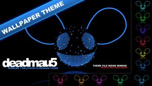 Deadmau5 W7 Wallpaper Theme by iNicKeoN