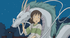 Spirited away - Reink, Recolor, Reshade by IronyProductions