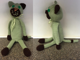 Mint Chocolate Chip Kitty by Mindys-Person