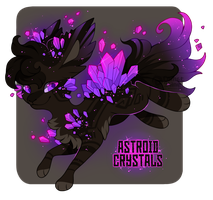 Astroid Crystals Astroflare Adopt - Closed by CometShine
