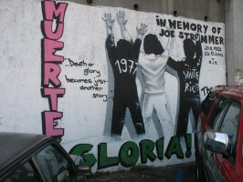 in memory of Joe Strummer by Botan