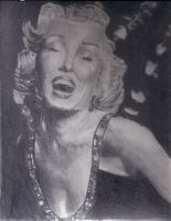 Marilyn Monroe by CHLI