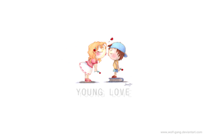 Young Love by Wolf-Gang