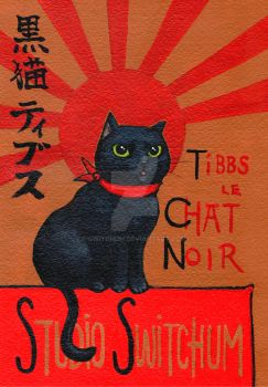 Tibbs Le Chat Noir by Switchum