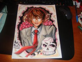 Kira from Death Note by DarkAkaAnima