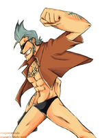 Franky fist by Cloudy-wolf