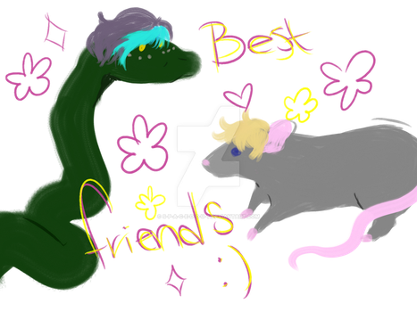best friends by s-p-a-c-e-d-0-u-t
