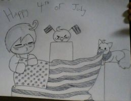 Happy Independence Day by LilMsTurtle