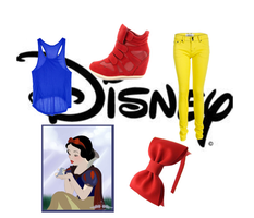 Modern Disney Outfits- Snow White by brie-grimes-twd