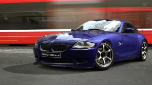 2008 BMW Z4 M Coupe (Gran Turismo 5) by Vertualissimo