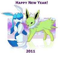 Happy New Year 2011 by WeisseEdelweiss