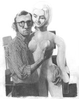 Woody Allen - true love ? by kjyBkuz