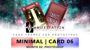Month 02: Card 06 - Photoshop (Minimal   Tarot) by CauseThought