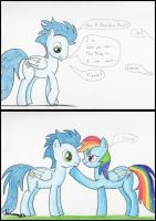 Soarin Talks to Rainbow by Jacsveus
