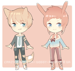 Cheap Auction + Icons : CLOSED by Doggy-Adopts