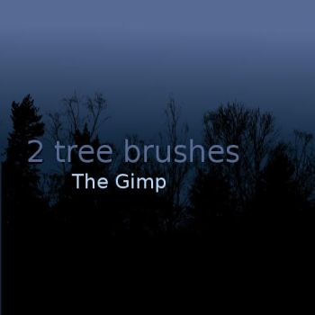 Tree Brushes 1 by Saykee