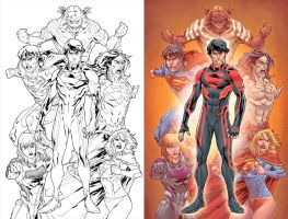 SUPERBOY #0 by DustinYee