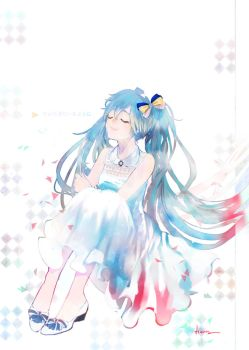 By your side (Miku) by asml30