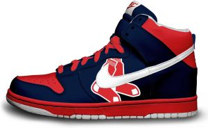 Nike Dunk: Boston Red Sox by itsmonotune