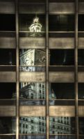 Wrigley reflected in Equitable by spudart