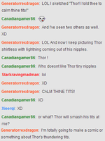 Thor's Tits by DRAGONLOVER101040