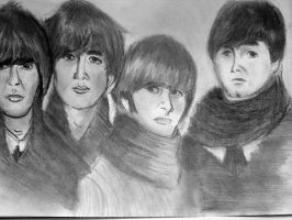 The Beatles by hugomaster5