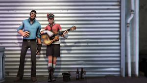 SFM - Street Musicians by wnses286
