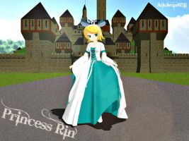 [MMD] Princess Rin Kagamine +DL by Party-P