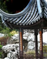 Chinese Garden by KelbelleStock