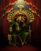 King Veerendra by scorpy-roy
