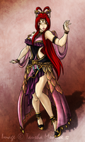 Commission: Kita as Diao Chan from DW7 by ToshieChan