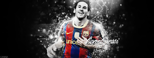 Lionel Messi by cannabis97