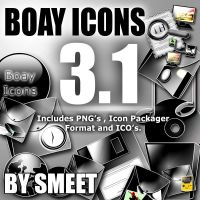 BOAY ICONS 3.1 by smeetrules