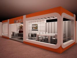 Exhibition Stand - other angle by Fdjohan19