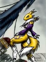 -:Renamon - citadeL:- by 7asoud
