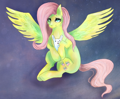 Fluttershy by Pantalewns