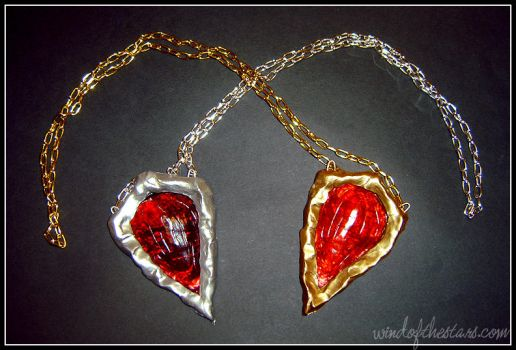 Devil May Cry amulets by WindoftheStars