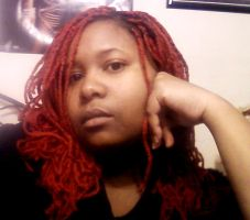 Me and my red hair by mainasha