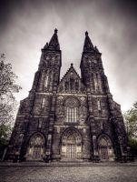 Towers of Vysehrad by Beezqp