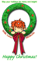 Jin in a Wreath 2009 by Apeliotus