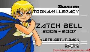 Toonami Legacy: Zatch Bell by KingdomHeartsENT