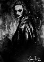 Eric Draven - The Crow by Oscarliima