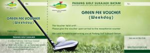Green Fee Voucher by agungbbk