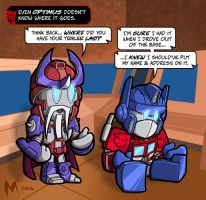 Lil Formers - Optimus' Loss by MattMoylan
