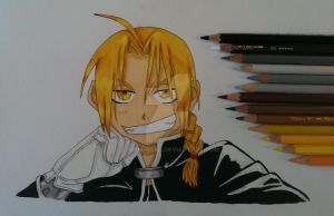 Edward Elric are you smirking at me by stormhelen