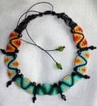 Rainbow micro macrame by Arismende