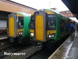 London Midland 172218 and 172221 at Moor Street by The-Transport-Guild